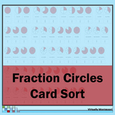 Fraction Circles Card Sort - for Fractions up to Tenths