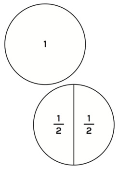 Fraction Circles - Math Learning Aid