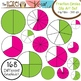 Fraction Circles, Strips & Pieces Clip Art MEGA Pack {Save $ by Buying Bundle!}