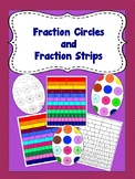 Fraction Circles and Fraction Strips