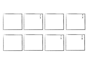Fraction City! Create A Math Comic!