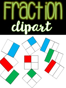 Fraction Clip Art {{Freebie}}