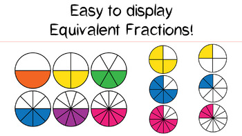 Fraction Clipart