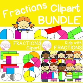 Fraction Clip Art Bundle