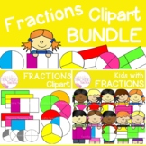 Fractions Clip Art Bundle