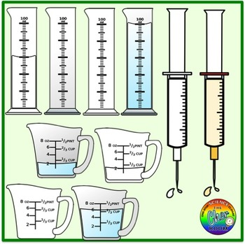 Fraction Clipart (Measurements)