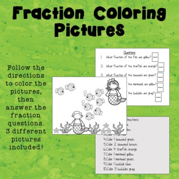 Fraction Coloring Pictures