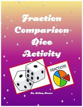 Fraction Comparison Dice Activity