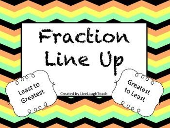 Fraction Line Up