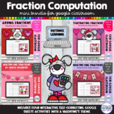 Fraction Computation BUNDLE | Valentines