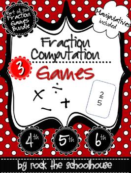 Fraction Computation Games