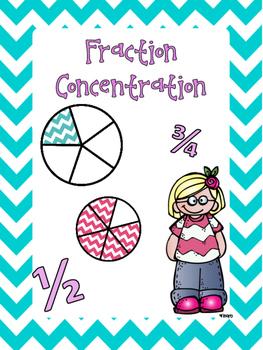 Fraction Concentration #teachersloveteachers