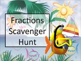 Fraction Concepts Scavenger Hunt