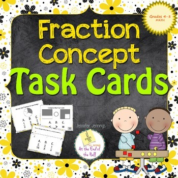Fraction Concepts Task Cards
