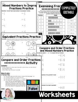 Fraction Concepts Unit