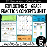 Fraction Concepts Unit