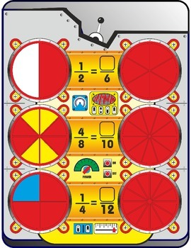 Fraction Contraptions: Create Equivalent Fractions Game
