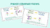 Fraction Conversion Posters