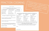 Fraction Cooking - Extension Project