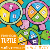 Fraction Craft - Turtle Fractions