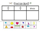 Fraction Cut & Paste