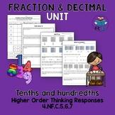 Decimal Fraction Activities