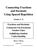 Fraction - Decimal Connection Using Spaced Repetition - FREE