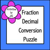 Fraction Decimal Conversion Puzzle