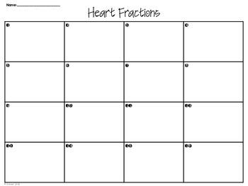 Fraction & Decimal Heart BUNDLE