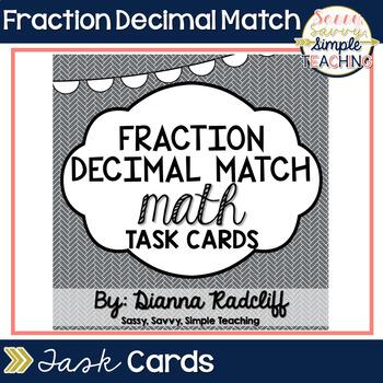 Fraction / Decimal Match