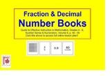 Fraction & Decimal Number Books