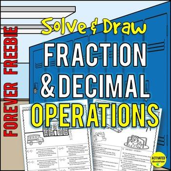 Fraction & Decimal Operations - Free