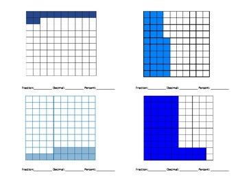 Fraction, Decimal, Percent
