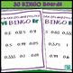 Fraction Decimal Percent BINGO