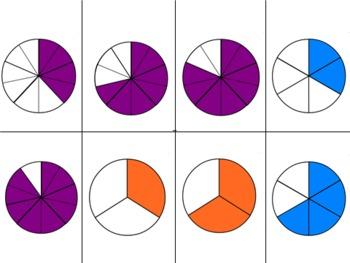 Fraction, Decimal, Percent Card Games