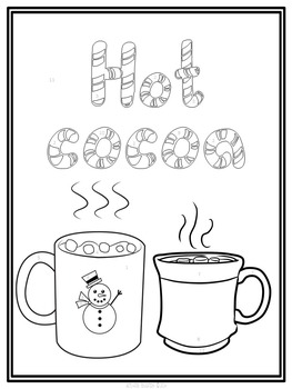 winter coloring pages math fractions - photo#24
