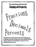 Fraction / Decimal / Percent (Common Core Aligned) COMPLETE unit