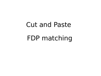 Fraction Decimal Percent Cut & Paste matching