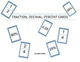 Fraction, Decimal, Percent Sort