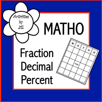 Fraction Decimal Percent MATHO