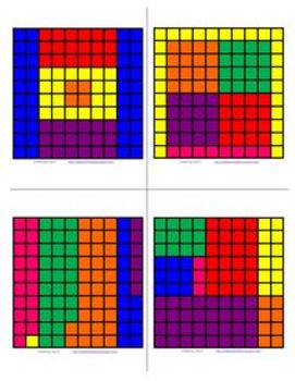 Fraction/Decimal/Percent Mosaic