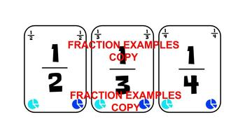 Fraction, Decimal, Percent Playing Cards