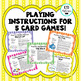 Fraction, Decimal, & Percent Playing Cards - with QR Codes!