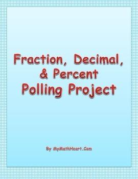 Fraction, Decimal, & Percent Polling Project
