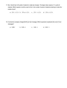 Fraction, Decimal, Percent Word Problems