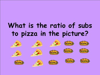 Fraction, Decimal, Percent and Ratio- Trivia Game (SOL 6.1 and 6.2)