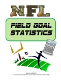 Fraction, Decimal, Percent~NFL Field Goal Percentages ~ Common Core