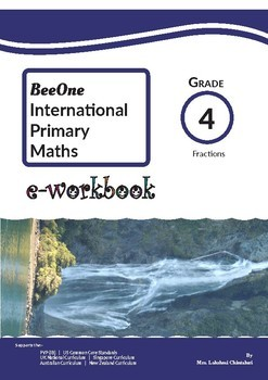 Fraction, Decimal & Percentage: Grade 4 Maths from www.Grade1to6.com Books