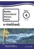 Grade 4 Fraction Workbook of 30 pages BeeOne Books