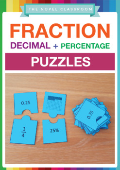 Fraction, Decimal & Percentage Puzzles